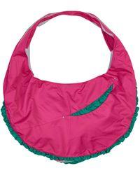 Kiko Kostadinov Isaac Cross Body Bag Tulipe/emerald Green U - Pink