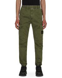 Stone Island - Cargo Pants Sage 30 - Lyst