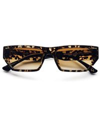 Etnia Barcelona Trinity Hvbk Sunglasses Tortoise - Blue