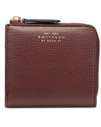 Smythson Ludlow Zip Around Bifold Wallet - Multicolour