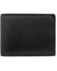 Smythson Ludlow Slim Currency Wallet - Black