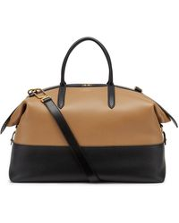 Smythson Ludlow Zip Guard Travel Bag - Black