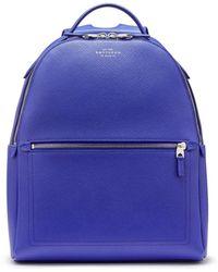 Smythson - Panama Small Backpack - Lyst