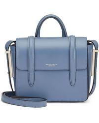 Smythson Wigmore Bag - Blue