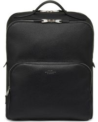Smythson Burlington Business Backpack - Black