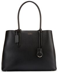 Smythson Panama Ciappa Business Bag - Black