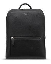 Smythson Ludlow Zip Around Backpack - Black