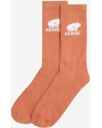 Karhu Classic Logo Socks - Oranje