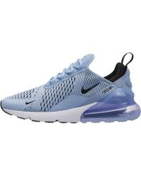 9cab0e00699ed Lyst - Nike Air Max 270 Flyknit in Blue for Men