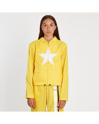 Converse Hooded Track Jacket - Yellow
