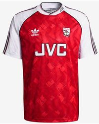 adidas Arsenal Fc 90-92 Jersey - Red