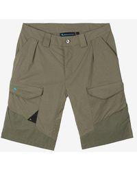 Klättermusen Grimner Shorts - Green