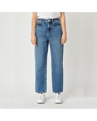 WOOD WOOD Trousers Ilo Jeans 12011305-7046 Classic Vintage - Blue