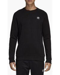 adidas Originals Essential Crew Dv1600 Sweatshirt - Black