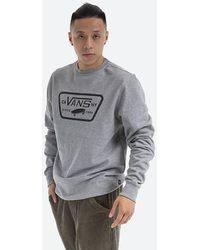 Vans Sweatshirt Full Patch Crew Ii Vn0a45ci02f - Grey