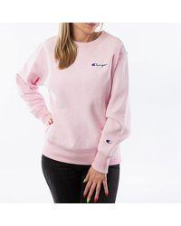 Champion Crewneck 113151 Ps104 - Pink