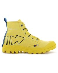 Palladium Pampa Dare Rew Fwd 76862-709-m - Yellow