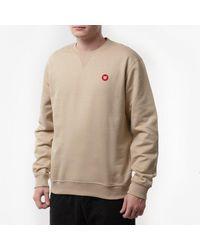 WOOD WOOD Sweatshirt Tye Sweatshirt 10945601-2424 Light Khaki - Natural