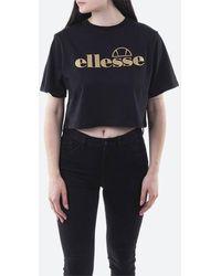 Ellesse T-shirt Presepe Cropped Tee Sgh10621 Black