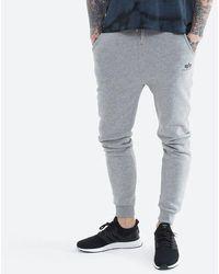 Alpha Industries Basic Jogger Sl 116370 17 Trousers - Grey