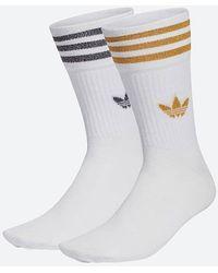 adidas Originals Mid Cut Socken Glt Sck h37063 - Weiß