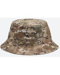 Carhartt WIP Carhartt Bucket Hat I026217 Camo Combi - Brown