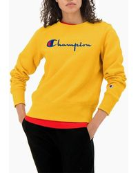 Champion Crewneck 112188 Ys001 - Yellow