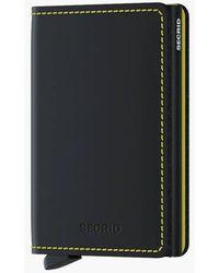 Secrid Slimwallet Matte Sm-black & Yellow