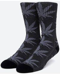 Huf Socks Micro Stripe Plantlife Socken Sk00545 Black