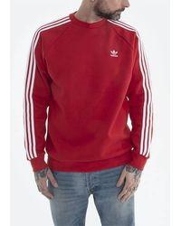 adidas Originals 3-stripes Crew Gn3484 - Red