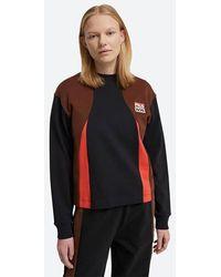 WOOD WOOD T-shirt Fila X Monica Longsleeve 688377 B028 - Black