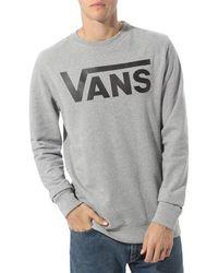 Vans Classic Crew Ii Va456aady - Grey