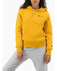 Champion Hooded 111556 Ys001 - Yellow