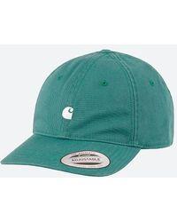 Carhartt WIP Madison Logo Cap I023750 Hydro/wax - Green