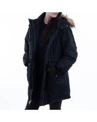 Converse Jacket In Down Parka 10019430-a02 - Black