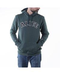 Alife Collegiate Hoodie Alifw20-33 Hunter Green