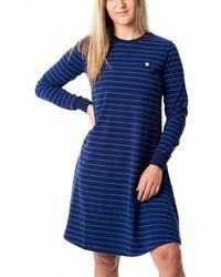 WOOD WOOD Isa Dress - Blau