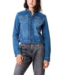 Tommy Hilfiger Slim Trucker Jacket - Blau