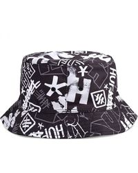 Huf Haze Bucket Hat - Schwarz