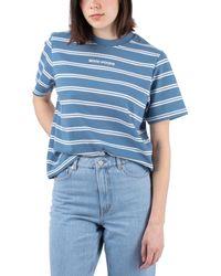 WOOD WOOD Alma Heavy T-Shirt - Blau