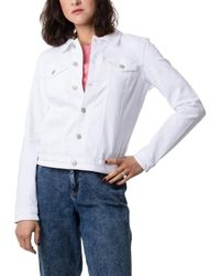 Tommy Hilfiger Slim Trucker Jacket - Weiß