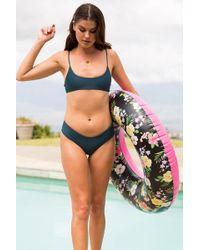 Mikoh Swimwear - Bondi Bottom In Scuba - Lyst