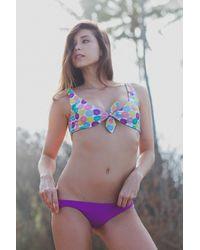 Lolli Swim Sammies Top In Ellas - Multicolor