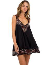 Cleobella - Maya Short Dress In Black - Lyst