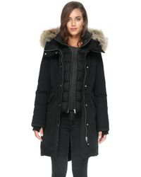 SOIA & KYO - Payton Straight-fit Mid-length Classic Down Coat - Lyst