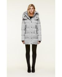 SOIA & KYO - Soia&kyo - Marilee Water-repellent Sporty Down Jacket With Large Hood - Lyst