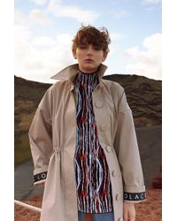 Solace London - Camille Trench Coat Fawn - Lyst
