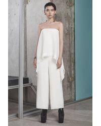 Solace London - Rosanna Jumpsuit Cream - Lyst