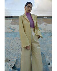Solace London - Nova Jacket Tan - Lyst