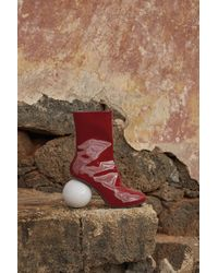 Solace London - Diego Boot Red - Lyst